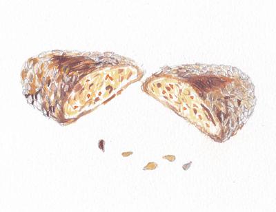 ひまわりのたねのパン