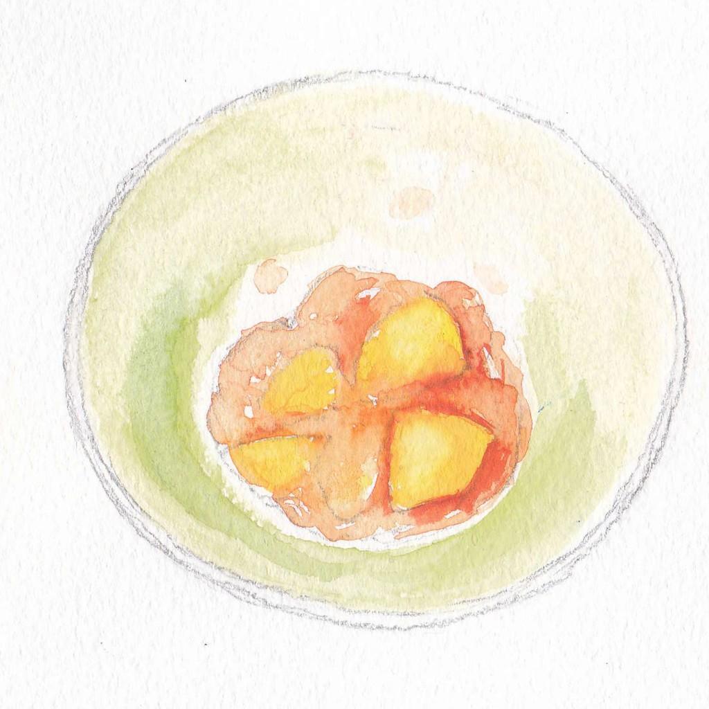 りんごのジュレ