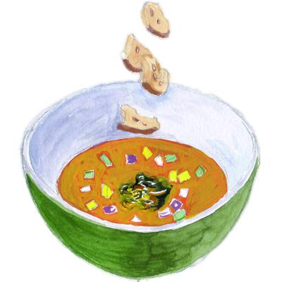 7月スープ